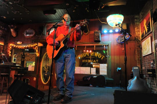 Black Mountain's David Bryan has returned to the Town Pump Tavern, where he hosts open mic night every Wednesday.