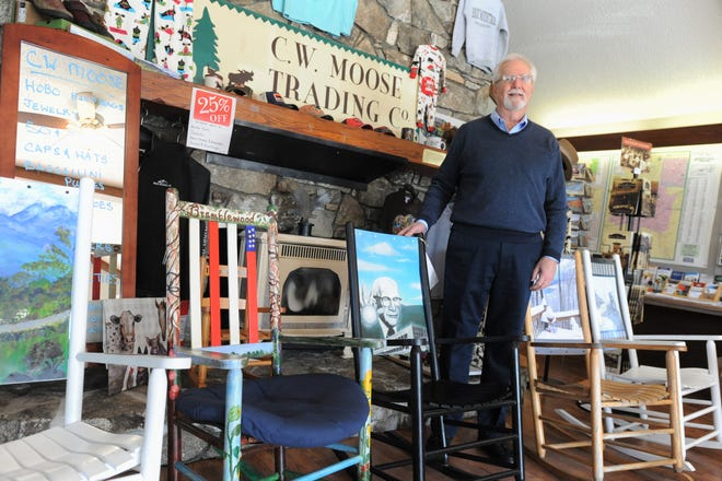 Black Mountain-Swannanoa Chamber of Commerce executive director Bob McMurray will retire this June from the role he's held since 1993.