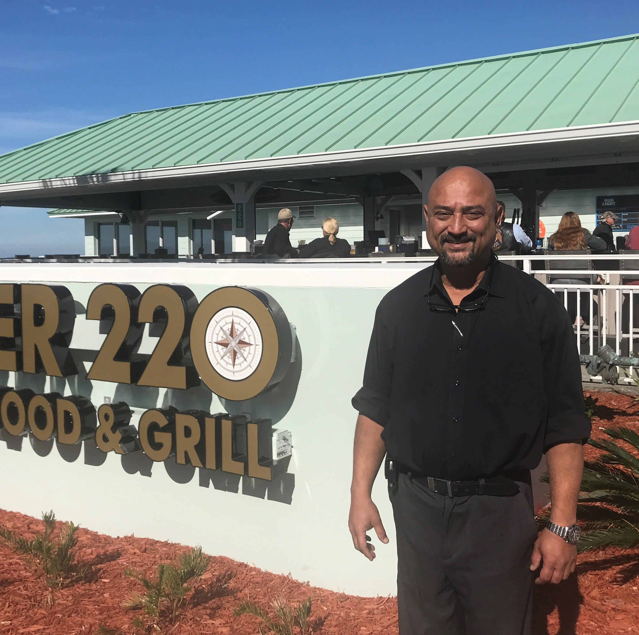 Pier 220 opens at foot of Brewer Bridge in Titusville, offers panoramic views