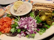 Mrs. Peter's Smoked Fish Dip at Mulligan's in Indian Harbour Beach was a little salty, but still satisfying.