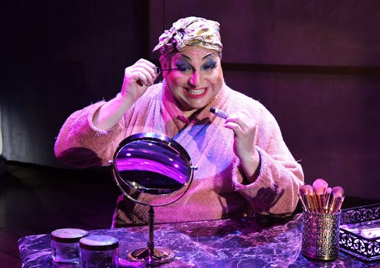 """Steven J. Heron starred as Albin in the play """"La Cage aux Folles,"""" which was performed earlier this year at Titusville Playhouse. The playhouse received $6012 from the county's community cultural grant program for the current budget year."""