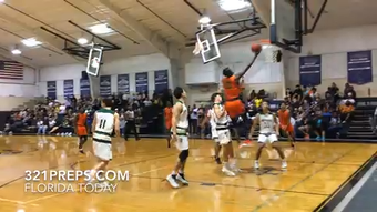 Highlights from Cocoa's 56-43 victory over Melbourne Central Catholic in District 7-5A boys basketball