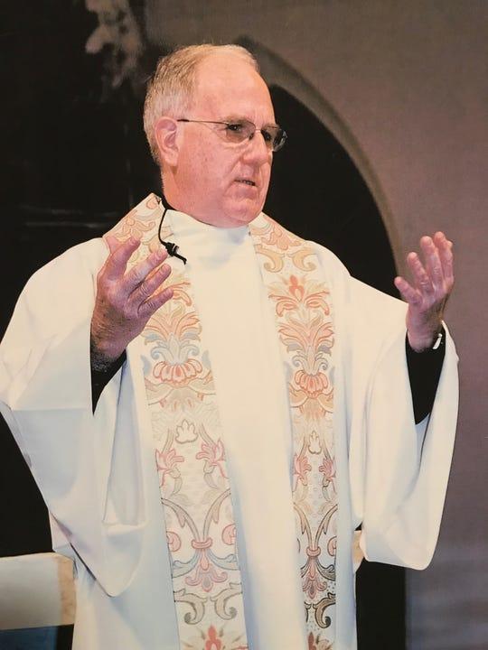 Monsignor Bob McDermott celebrates Mass in an undated photo provided by The Joseph Fund.