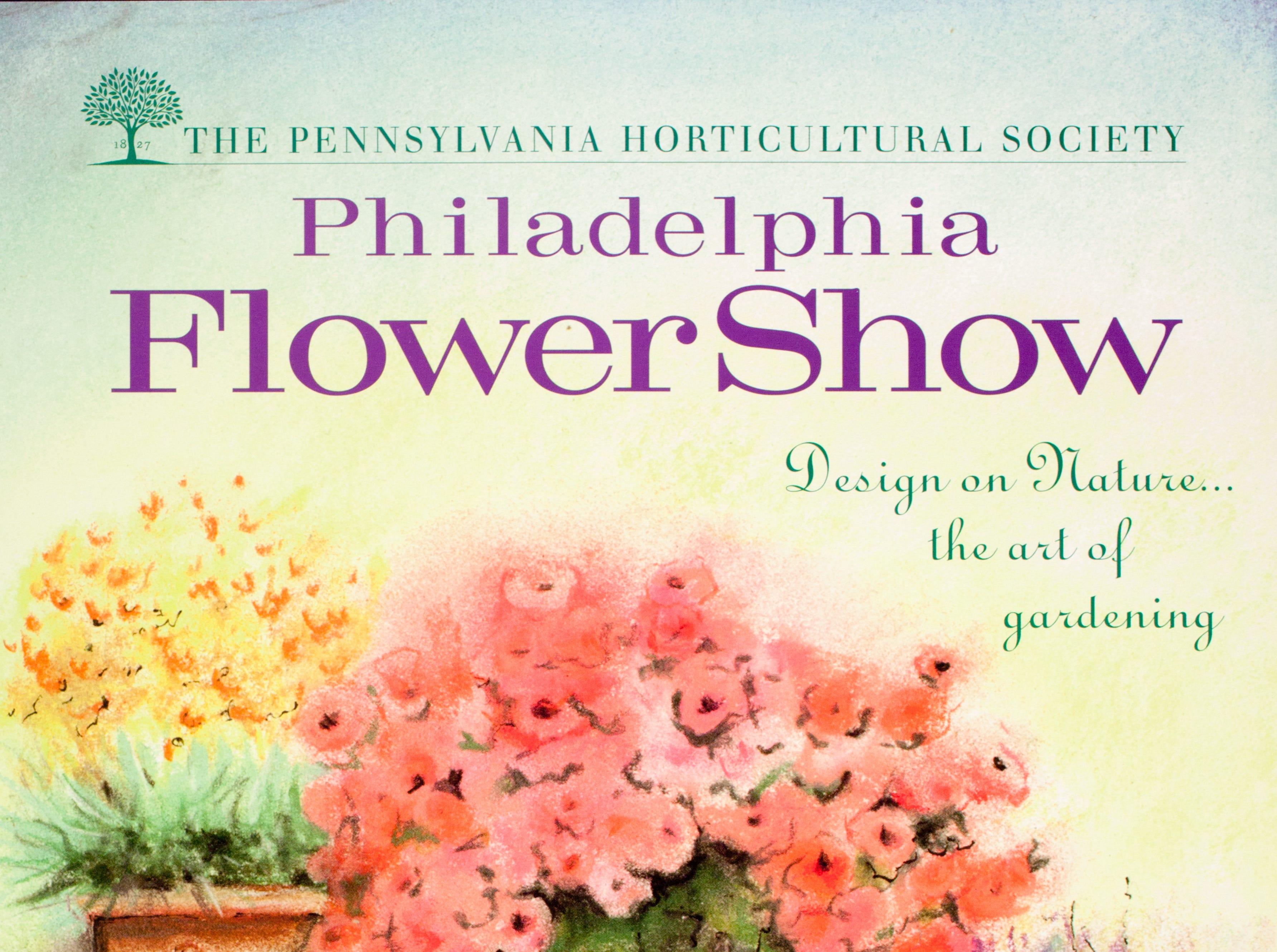 The poster for the 1999 Philadelphia Flower Show.