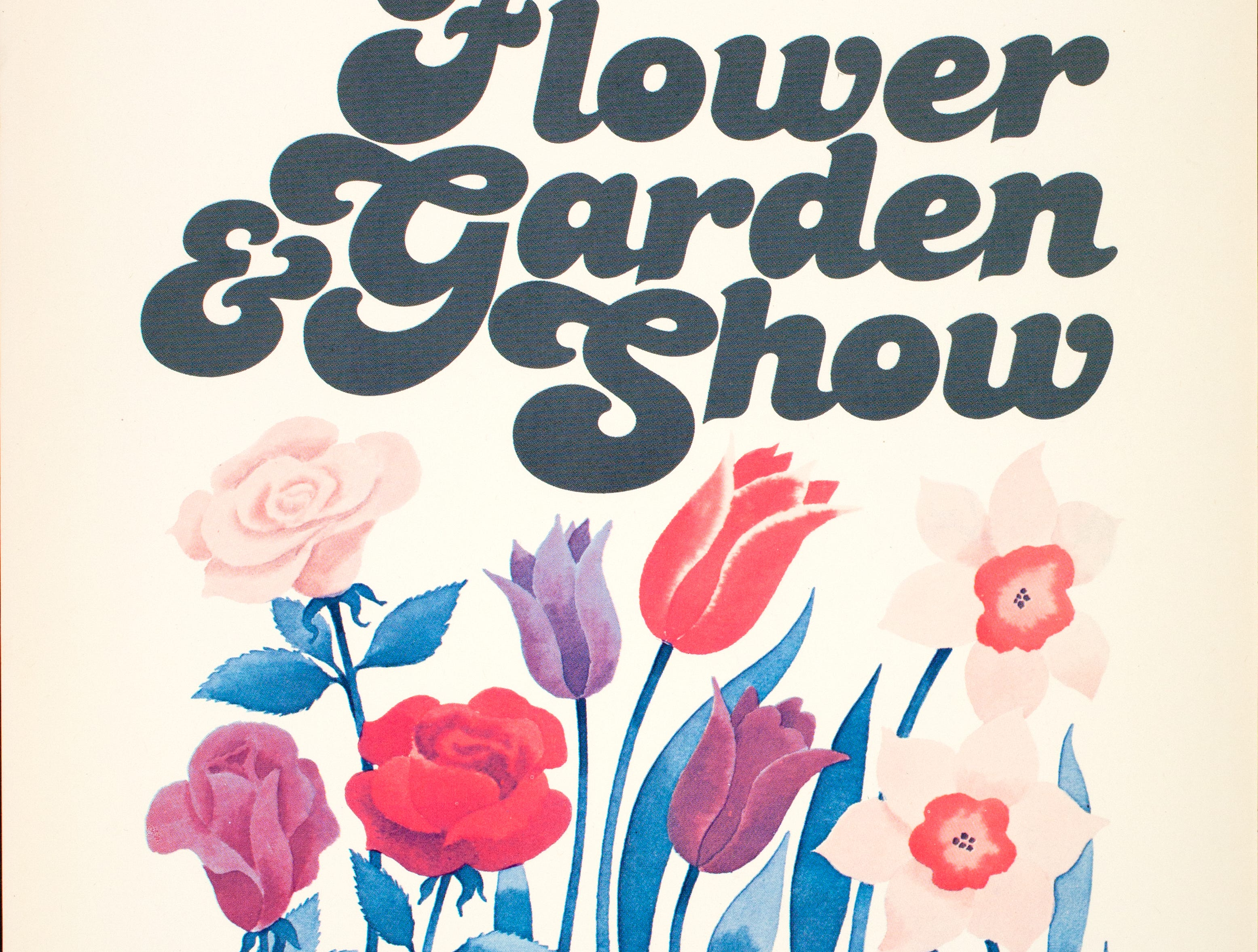 A poster for the 1980 Philadelphia Flower and Garden Show.