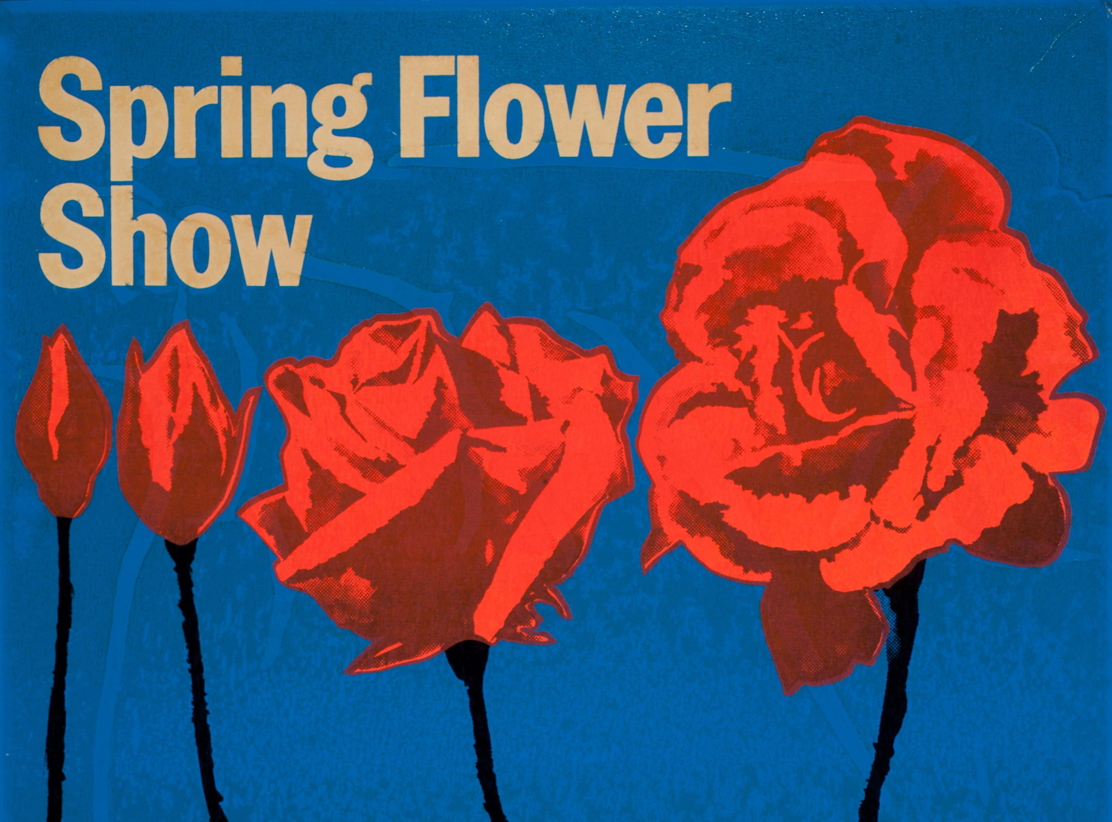 A poster for the 1967 Philadelphia Flower Show.