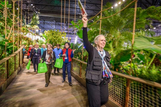 Ready, set go: It's time for the 2019  Philadelphia Flower Show.