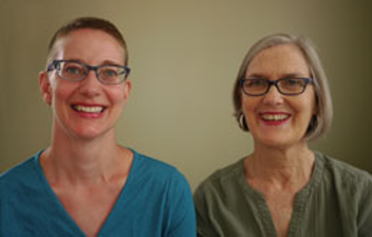 Doris Dirks (left) and Patricia Relf are the authors of To Offer Compassion: A History of the Clergy Consultation Service on Abortion.