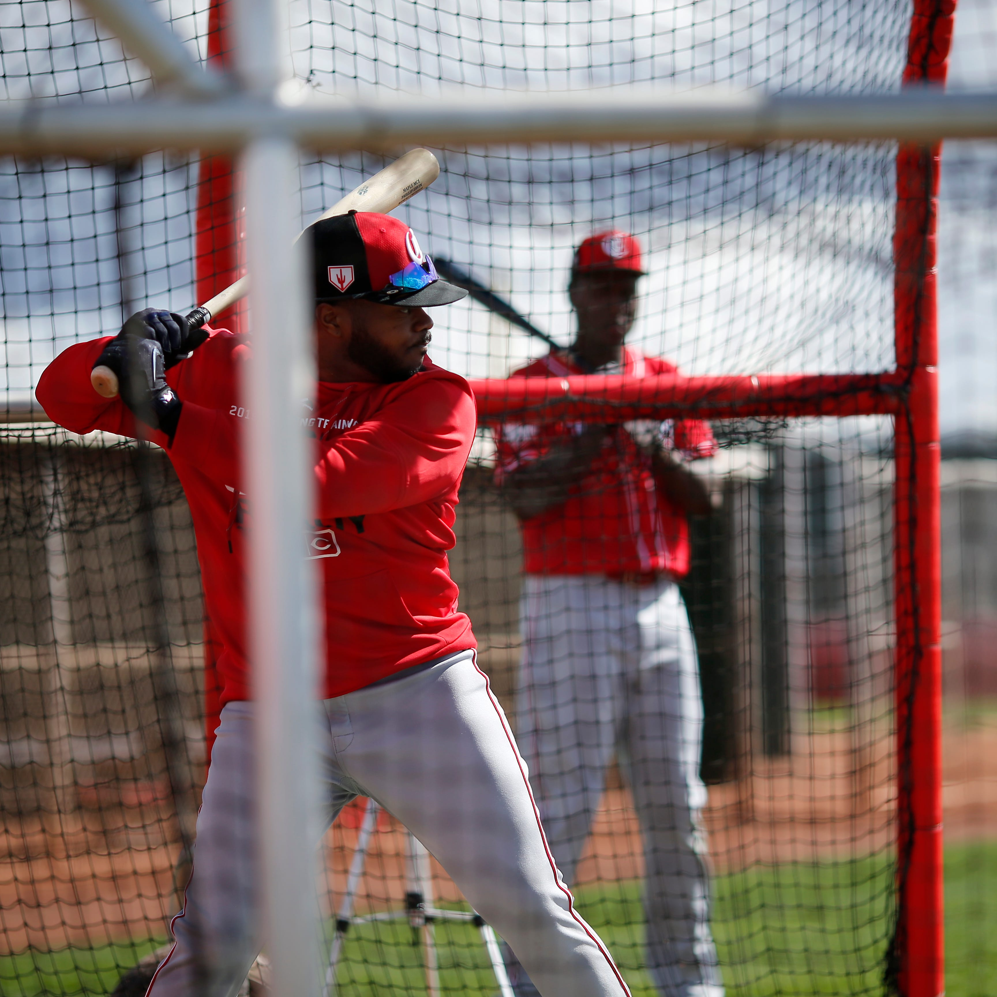With ongoing competitions, Cincinnati Reds outfielders standing out during spring training