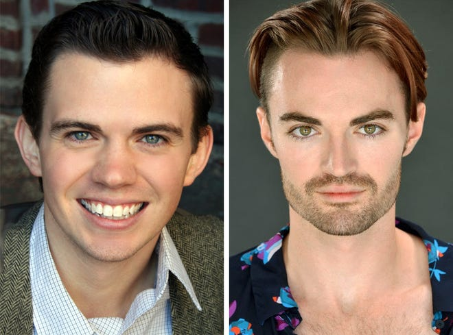 Ryan Bowie and Ian Alexander Erbe star in GIRLFRIEND in the Roxy Regional Theatre's theotherspace, February 25 - March 5