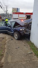 Donta Peterson died Saturday afternoon after crashing into an empty building on College Street.