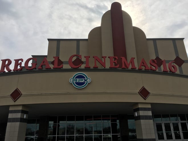 Helping to lead the retail movement near Exit 1 is the Regal Cinemas 16 movie theater