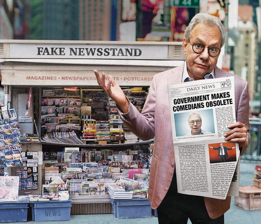 Comedian Lewis Black performs at FireKeepers Casino Hotel onFriday, March 1.