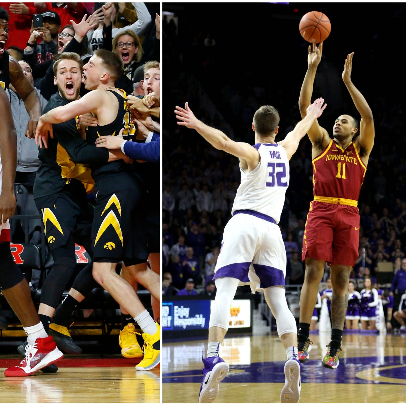 Do you believe in miracles? Poll voters tell Hawkeyes 'nope'; Cyclones back into top 20