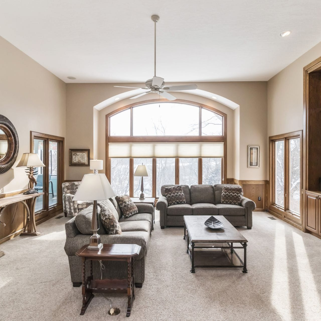 Mansion Monday: Custom home in West Des Moines boasts prime location with privacy