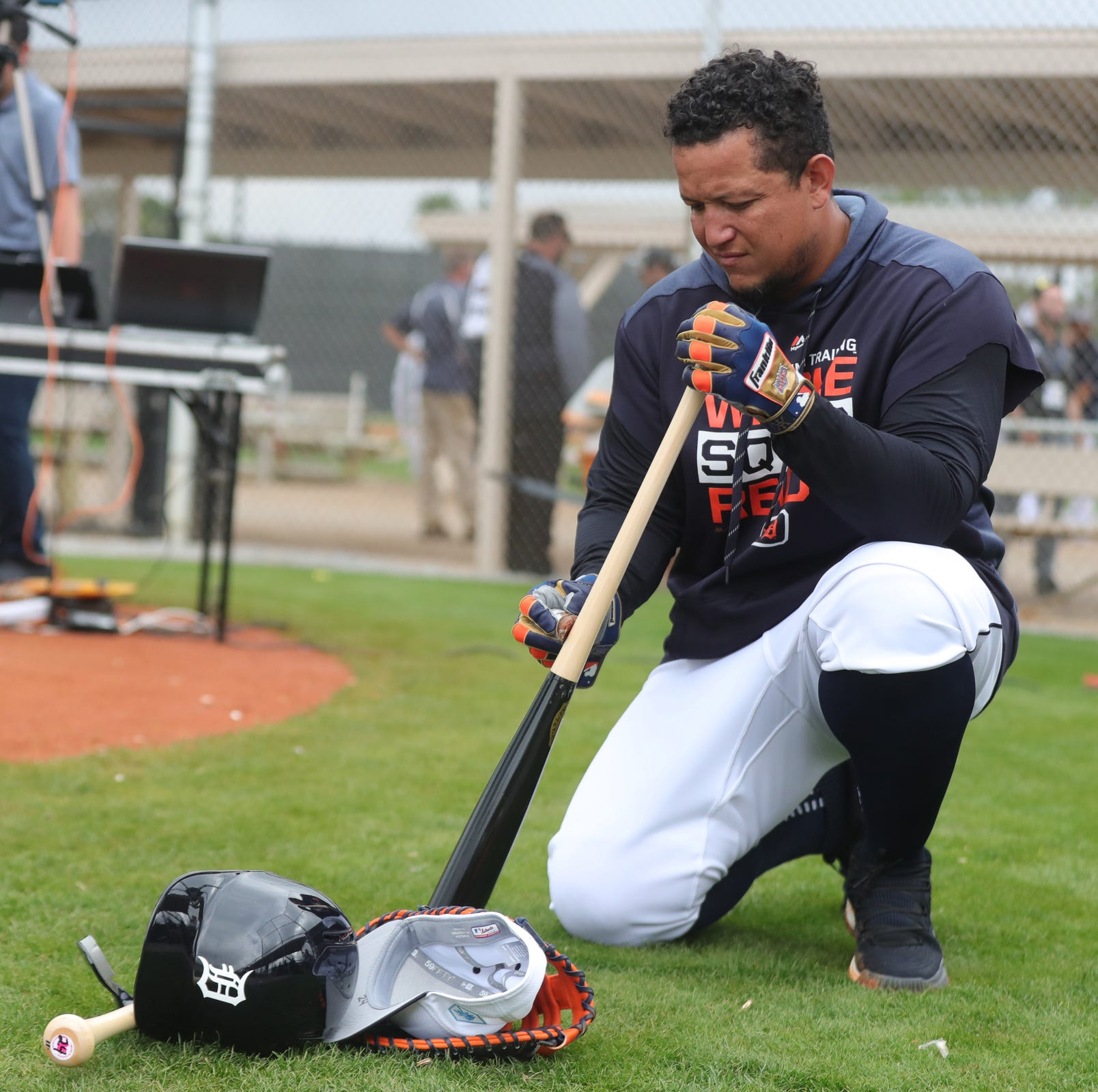 Detroit Tigers observations: Miguel Cabrera, 'full squad' are back