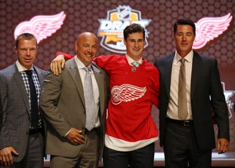 A look at Detroit Red Wings recent first-round draft picks.