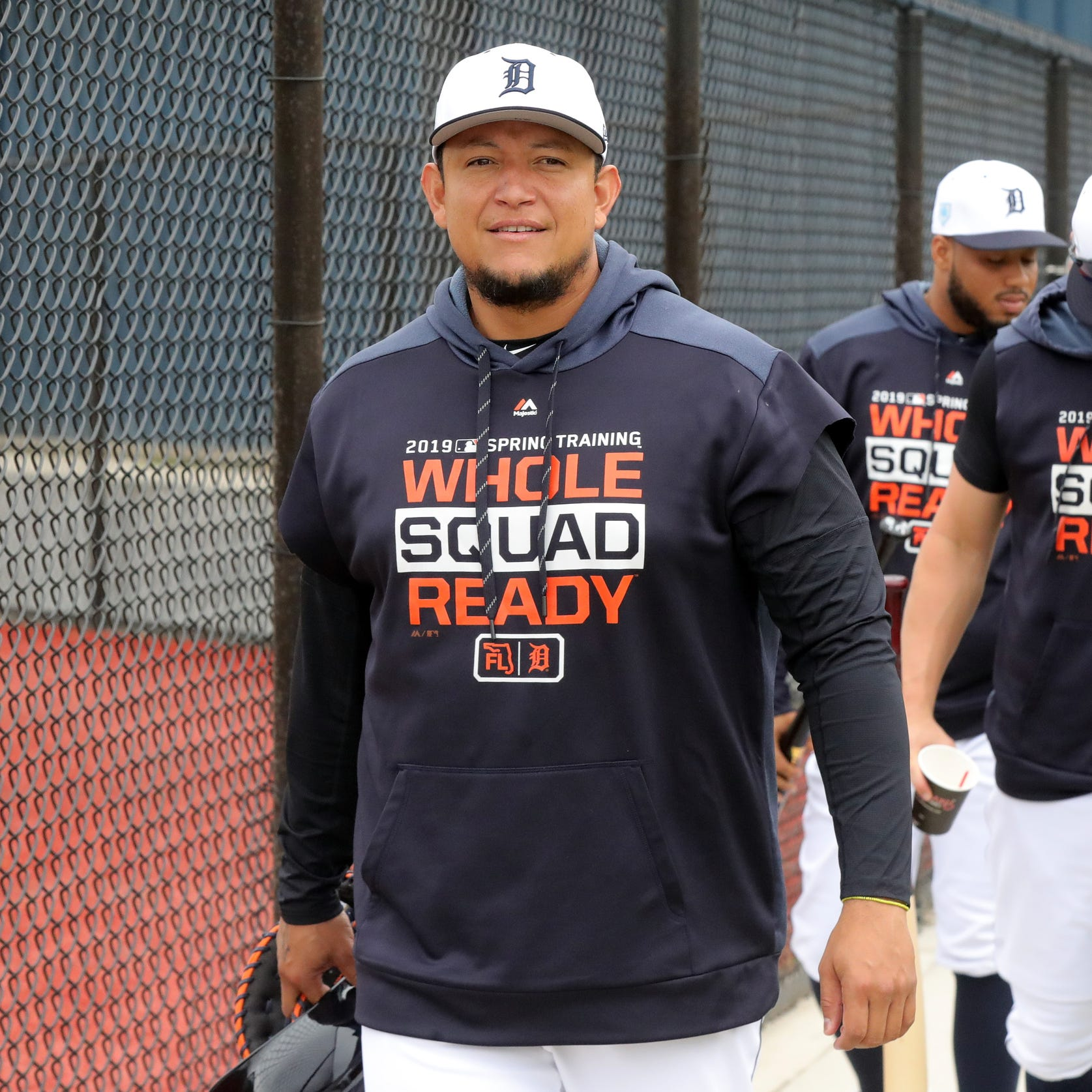 Detroit Tigers' Miguel Cabrera reports for duty: 'I feel I can do my job this year'