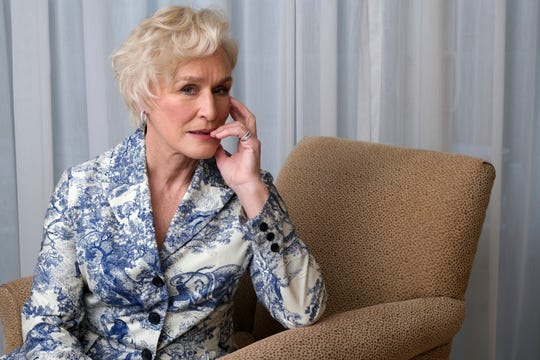 """Seven-time Oscar nominee Glenn Close is up for best actress this year for her work in """"The Wife."""""""