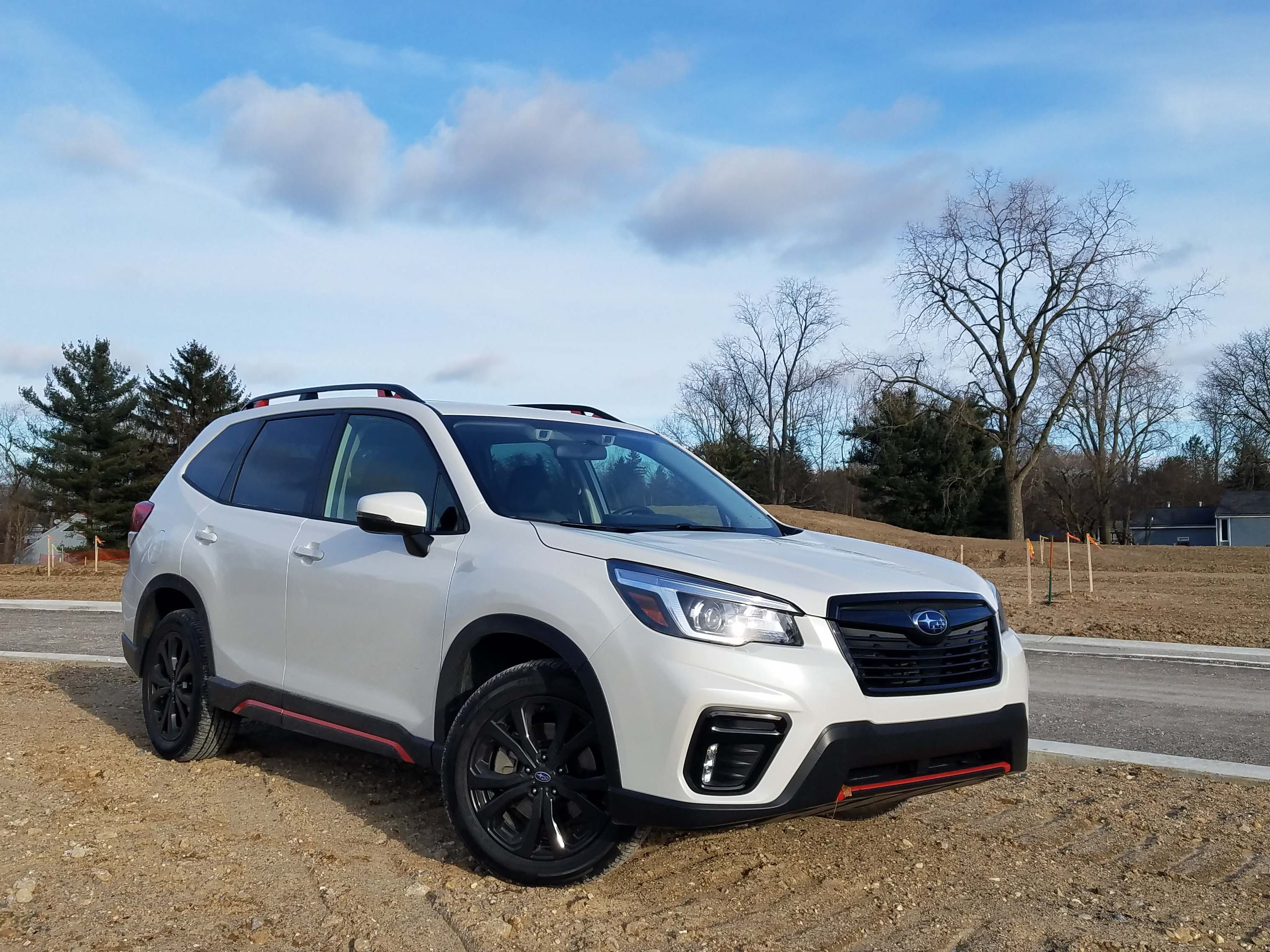 Happy on- and off-road. With multiple X-MODE settings for mud, road and snow, the Subaru Forester Sport is an eager, all-season auto.