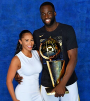 Draymond Green with Hazel Renee.