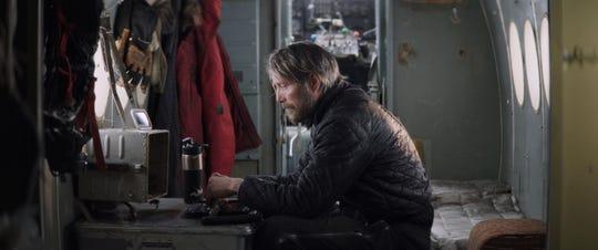 """Mads Mikkelsen in """"Arctic."""""""