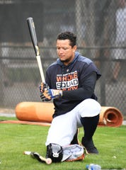 Tigers first baseman Miguel Cabrera says he'll play wherever manager Ron Gardenhire wants him to this season.