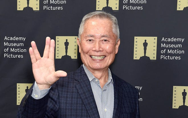 George Takei attends The Academy Museum Of Motion Pictures Unveiling of the Fully Restored Saban Building at Petersen Automotive Museum on December 4, 2018 in Los Angeles, California.