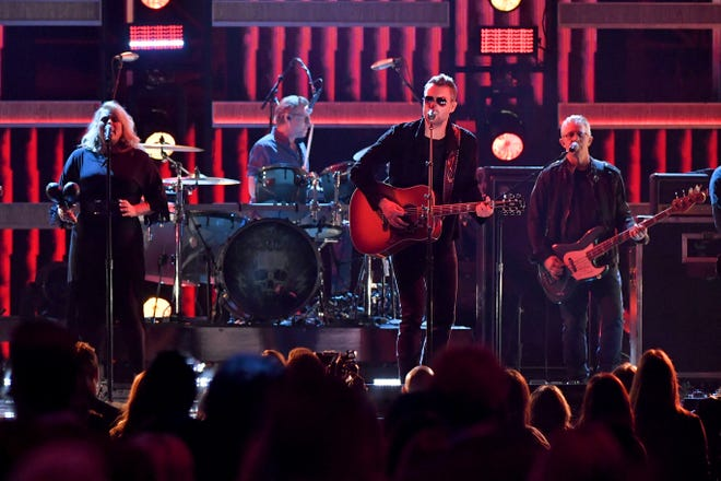 Eric Church performs onstage during the 52nd annual CMA Awards at the Bridgestone Arena on November 14, 2018 in Nashville.