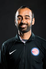 Pistons assistant GM Sachin Gupta has a bachelor's degree in Computer Science and Electrical Engineering from MIT.
