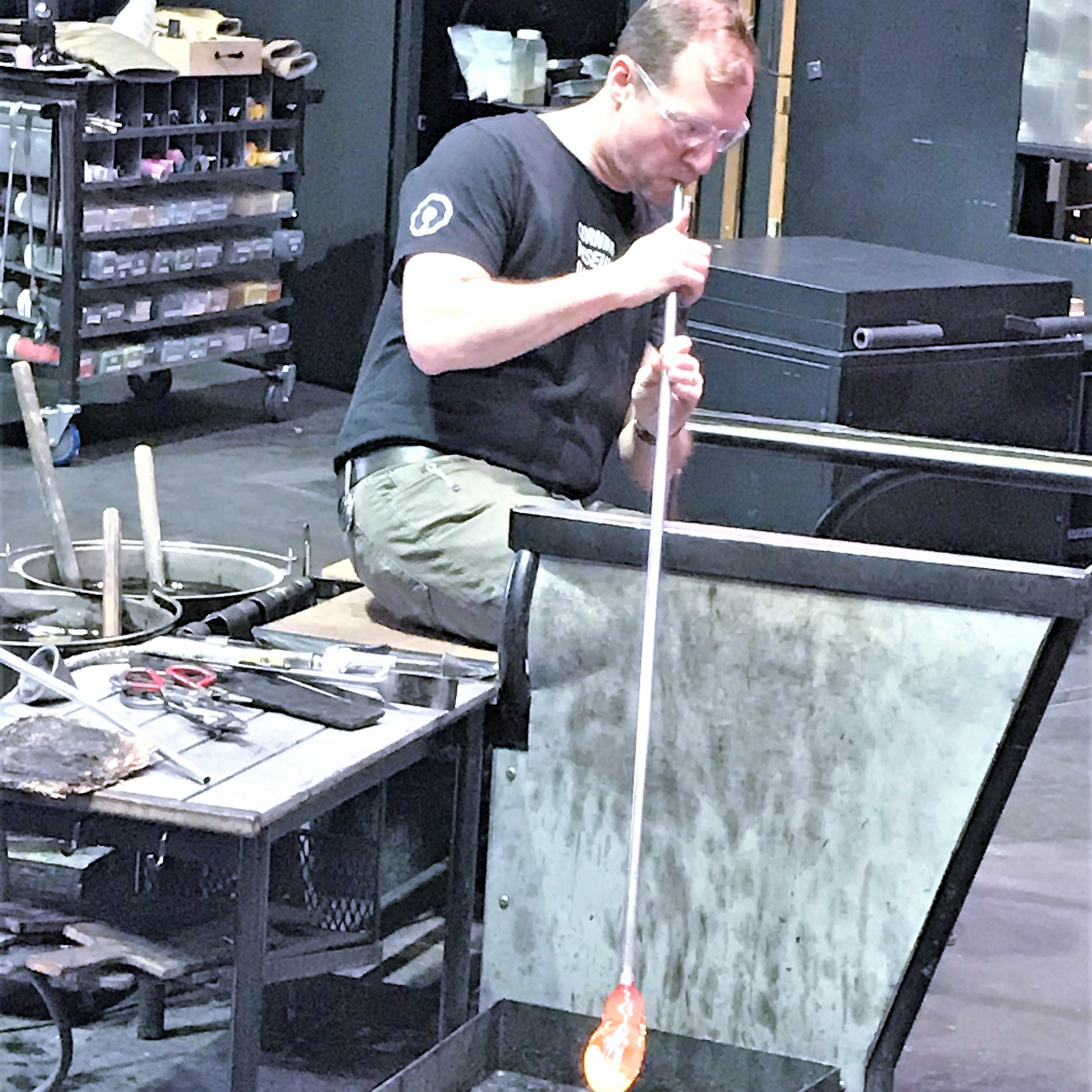 Corning museum collaborates on new Netflix glassblowing competition