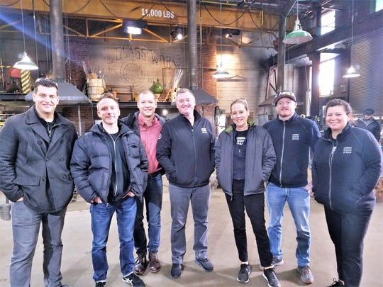 Several staffers from the Corning Museum of Glass took part in production of a new Netflix show on glassblowing.