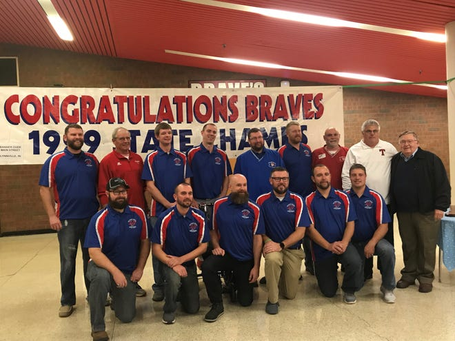 The 1999 Tecumseh Class A state championship team was honored in a 20th anniversary celebration earlier this season.