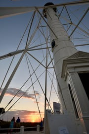 The newly restored Gasparilla Island lighthouse is once again shining.