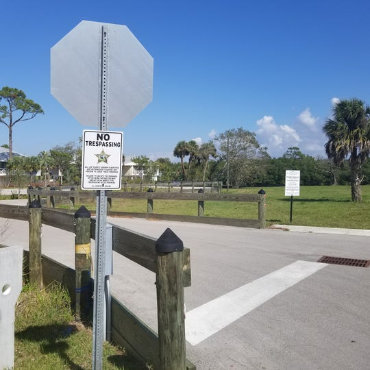 Now closed off to public use, a boat ramp near the Moody River Estates complex in North Fort Myers has been offered to Lee County for use as a public ramp.