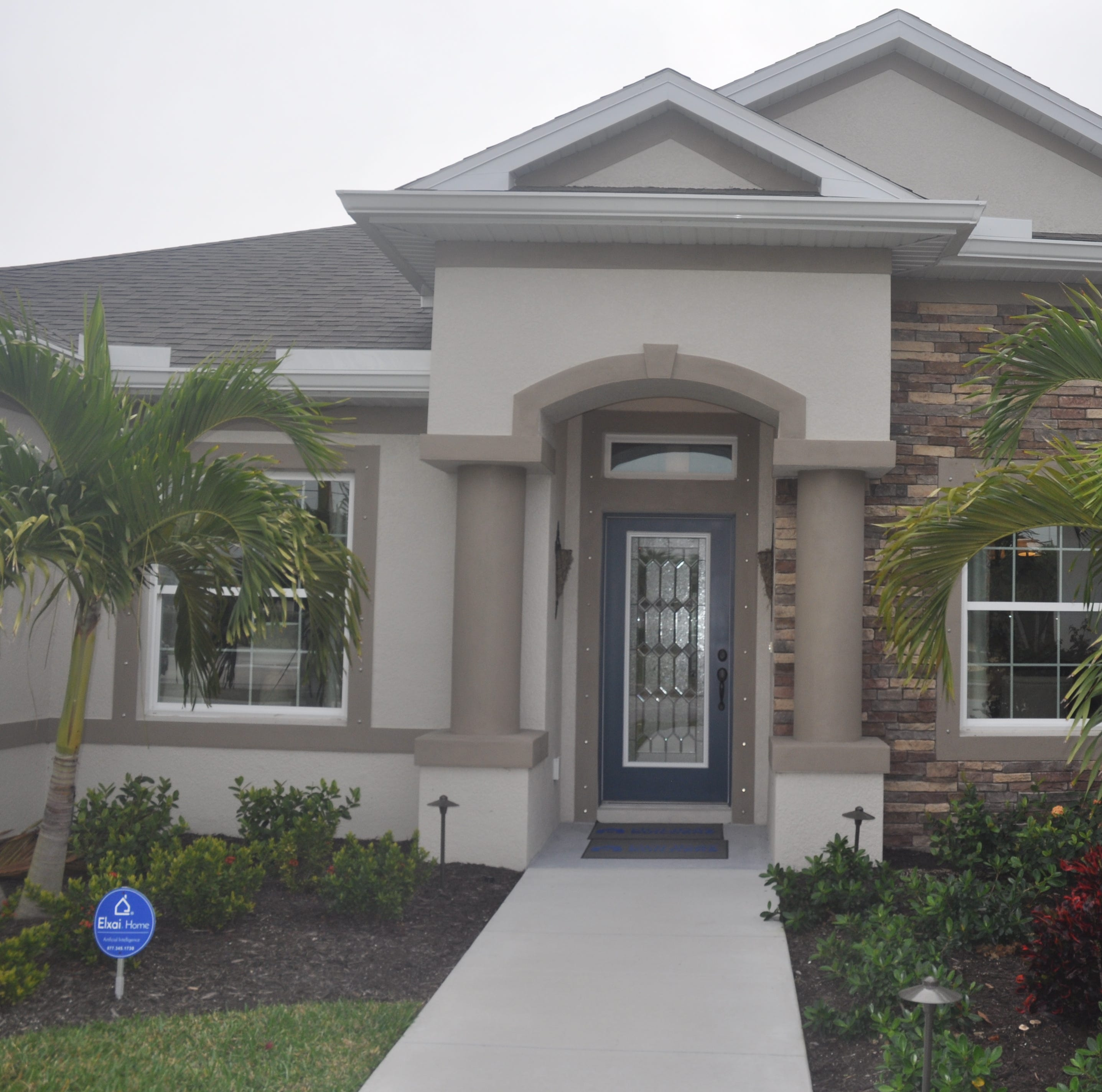 Holiday Builders shows Charleston model in Lee County BIA Parade of Homes