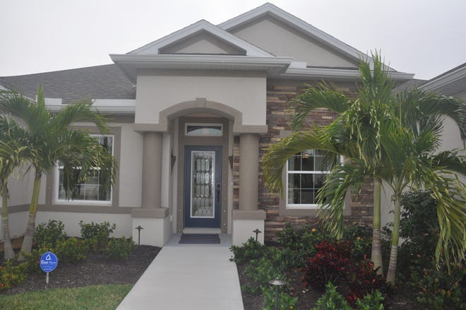 The Charleston by Holiday Builders is one of the houses in the Lee County Parade of Homes.