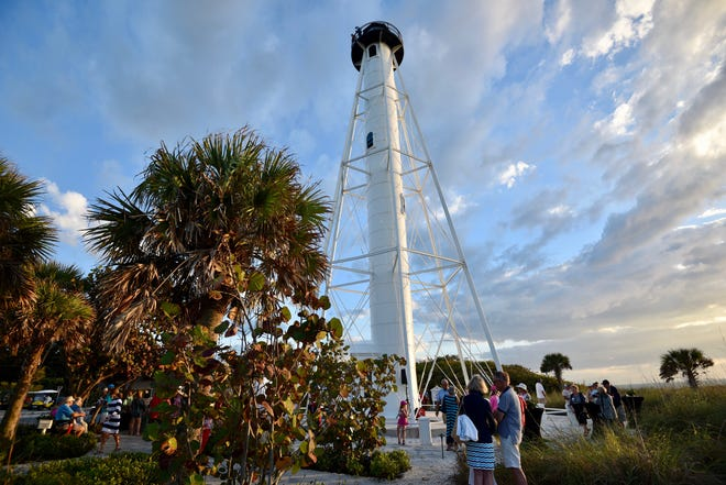 The newly restored Gasparilla Island lighthouse