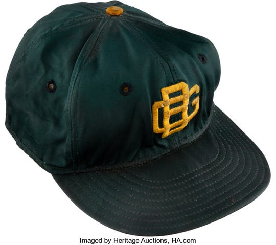 A hat worn by Green Bay Packers coach Vince Lombardi during the 1960s is up for auction.