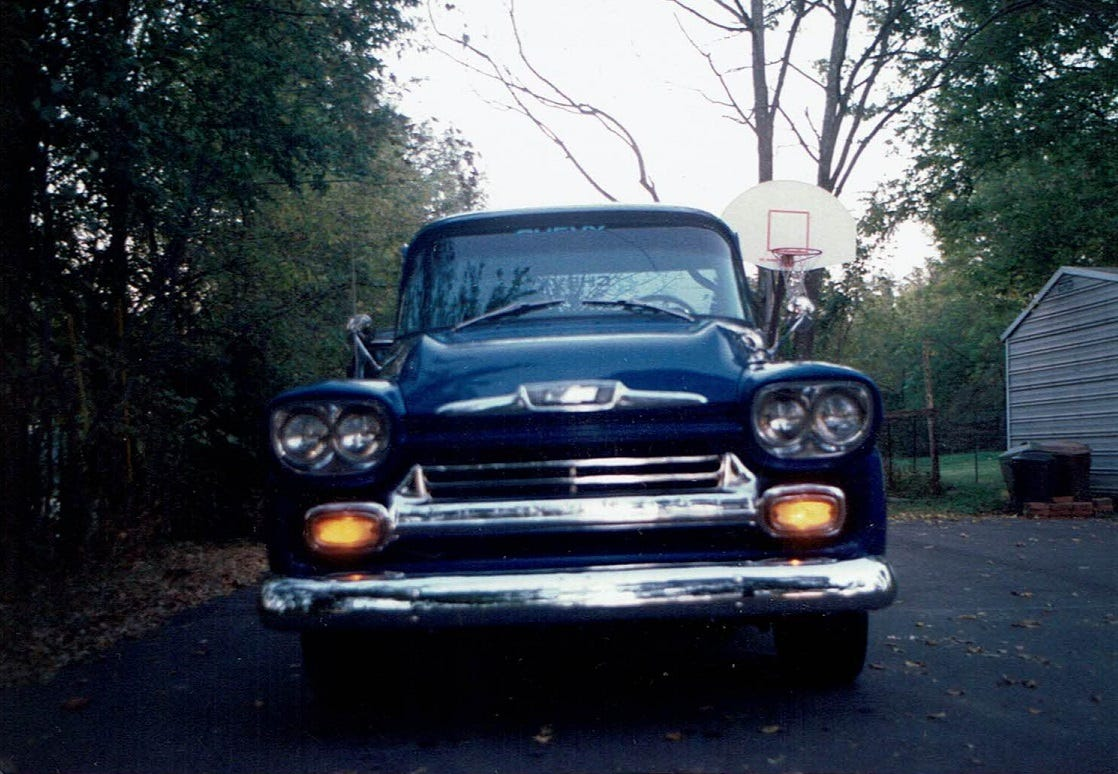 Nashville Man S Quest For His 1958 Chevy Pickup Begins And Ends In Green Bay