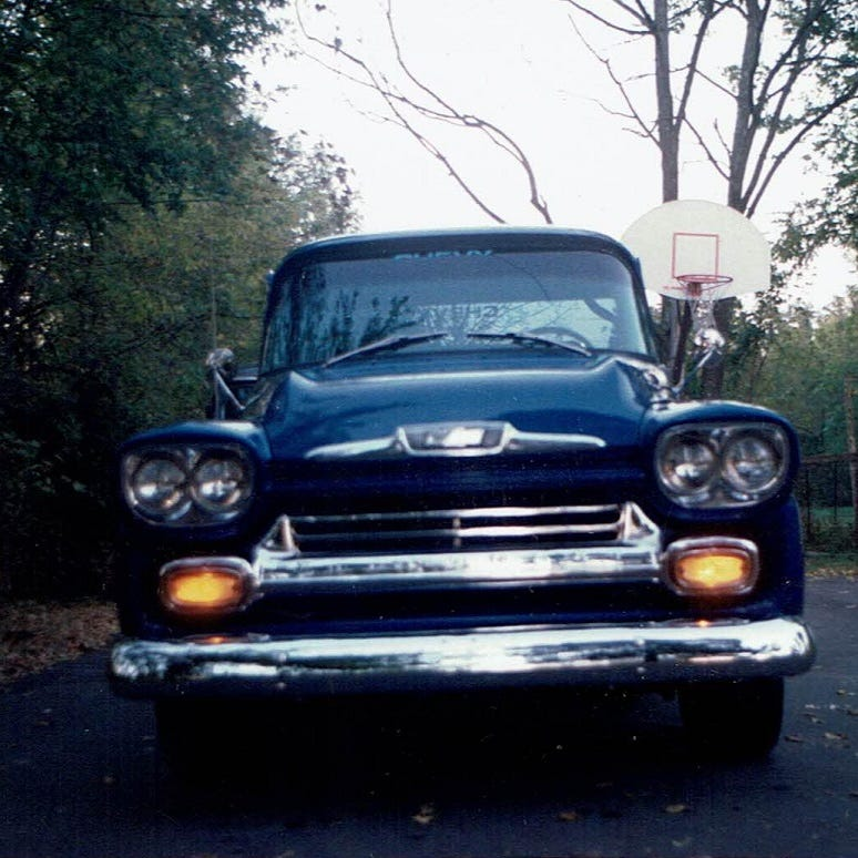 A man, a guitar, and his quest to find a lost 1958 Chevy pickup truck