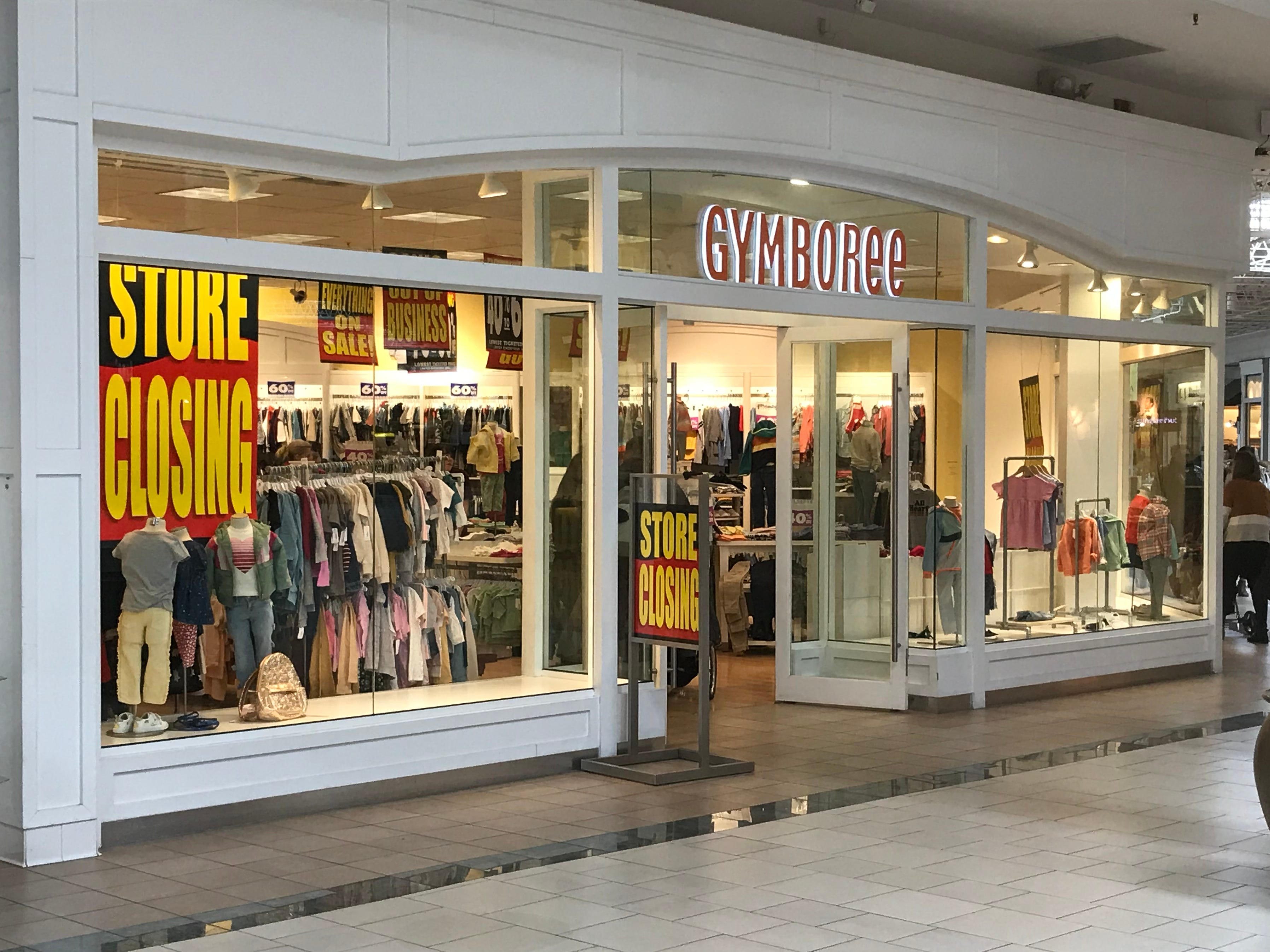 The Gymboree store in Bay Park Square will close due to the bankruptcy of its parent company Gymboree Group.