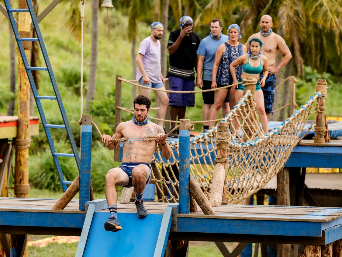 "Chris Underwood competes on ""Survivor: Edge of Extinction,"" which was filmed in Fiji."