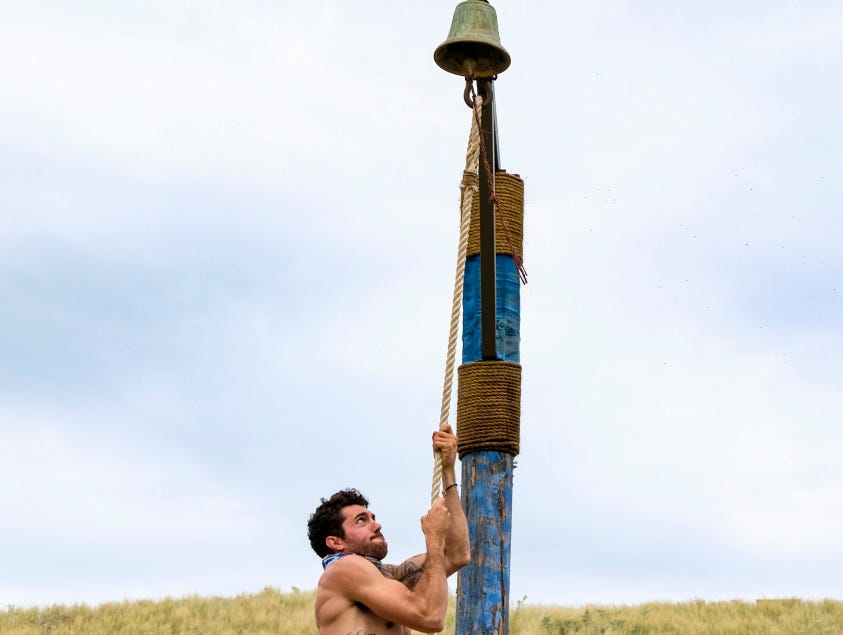 "Chris Underwood of Greenville competes on ""Survivor: Edge of Extinction,"" which was filmed in Fiji."