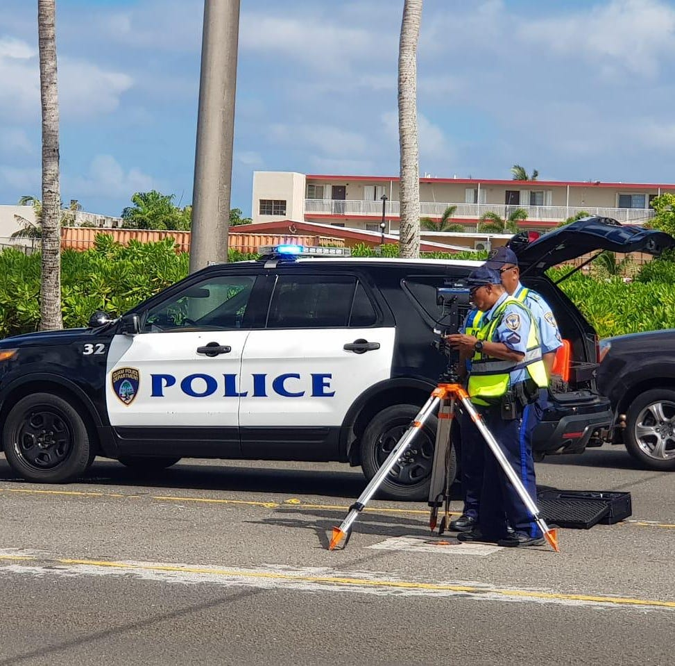 Roads closed on Route 8, Guam Police Department investigating fatal crash