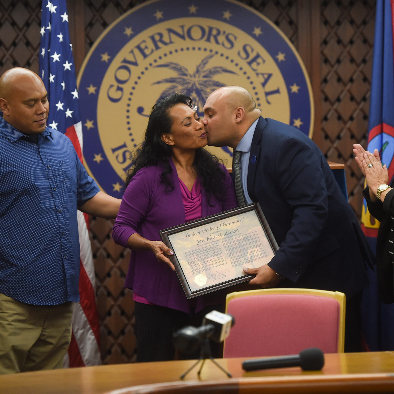 Jon Anderson posthumously awarded Ancient Order of Chamorri