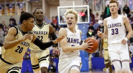 Carmel knocked off Warren Central 69-52 on Friday...