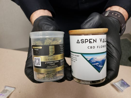 The two CBD flower products found in a Greenfield shop tested positive for cannabis, according to officials.