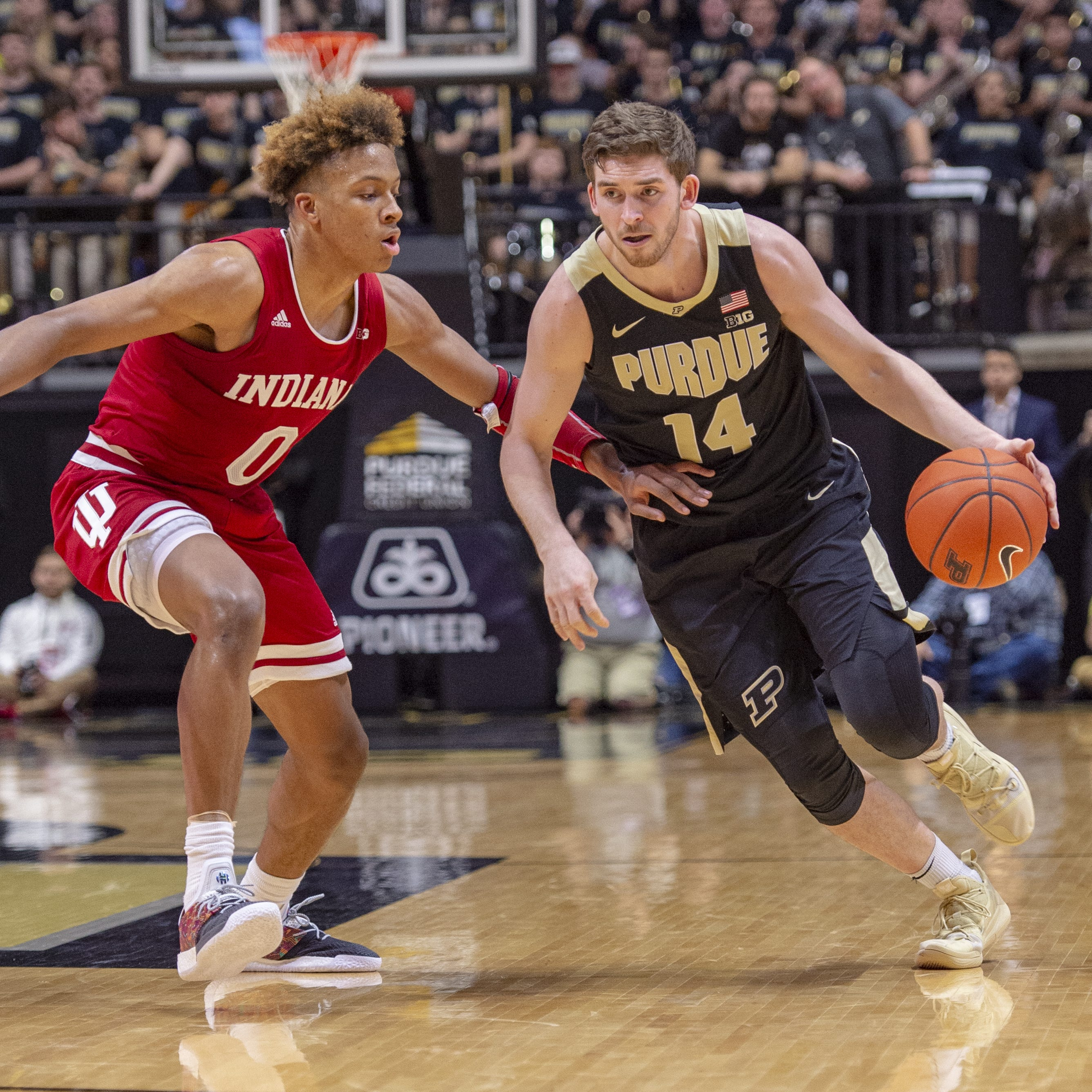 Purdue basketball seniors out to extend legacy of success at Indiana's Assembly Hall