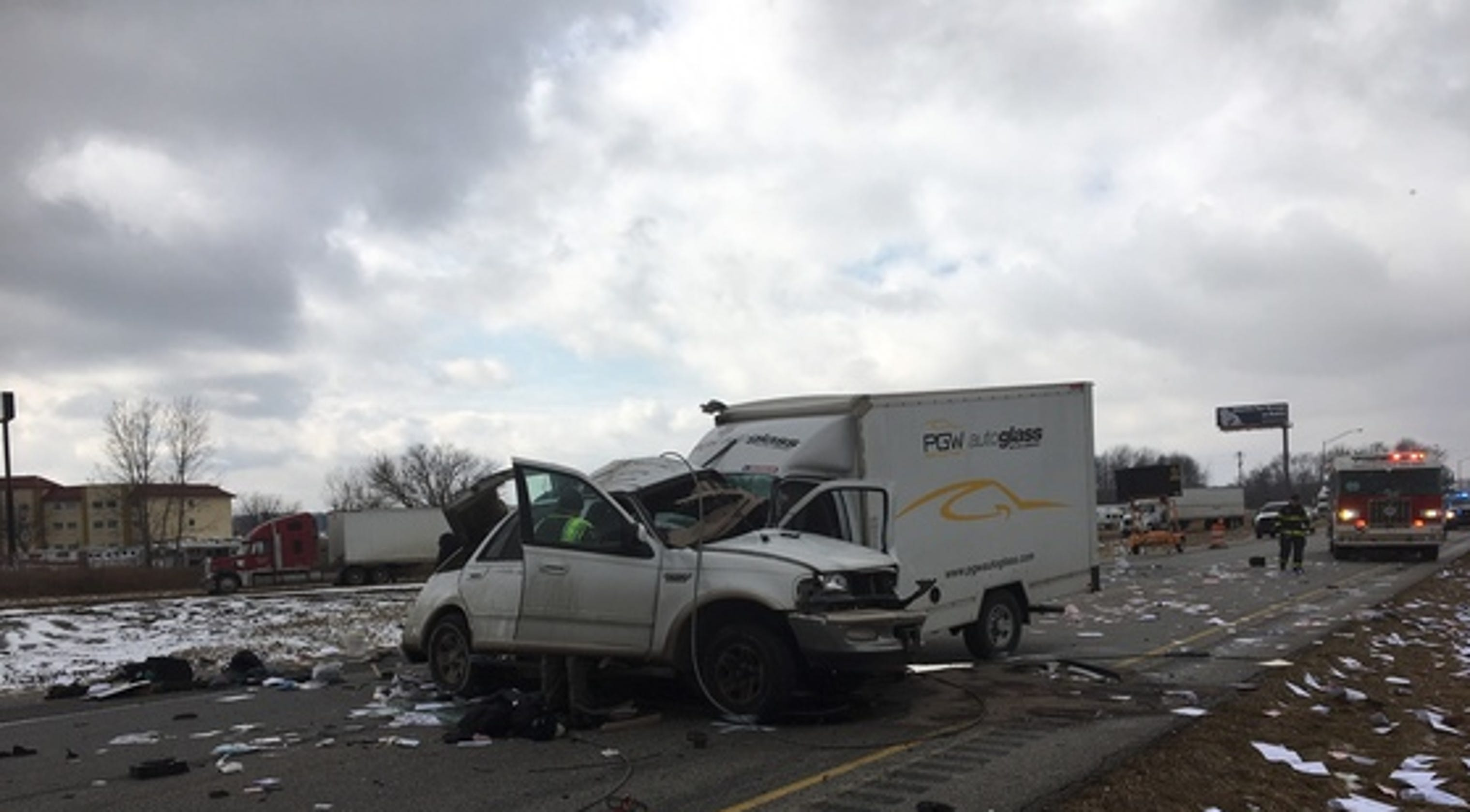 Indiana State Police: 2 killed in I-74 crash in Montgomery